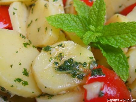 Salade de pommes de terre comme là-bas dit !