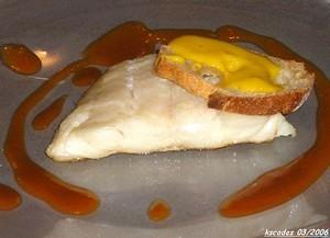 Cabillaud rôti, sauce américaine et tartine de rouille