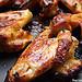Chicken wings caramélisées au miel et à l