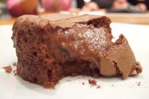Coulants au chocolat et aux truffes noires du Périgord
