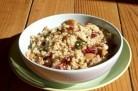 Boulghour aux cranberries, amandes et graines de tournesol – Trish Deseine