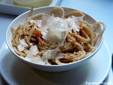 Spaghettis au petit épeautre