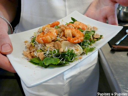 Salade asiatique façon Gontran Cherrier