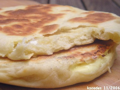 Spicy Uighur Street Meat And Buttered Naan Recipe — Dishmaps