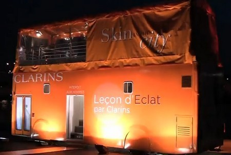 Bus Clarins - Skin in the City