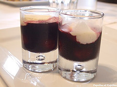dessert aux cerises par Jean Luc Rocha