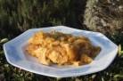 Tajine de veau aux oignons, miel et safran