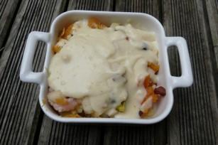 Gratin Potiron – Poires – Poireaux – Pommes de terre