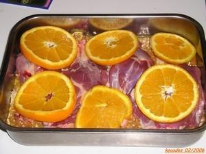 Canard à l orange