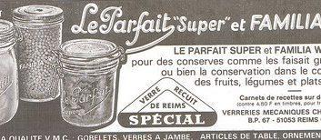 Affiche ancienne bocal Le Parfait