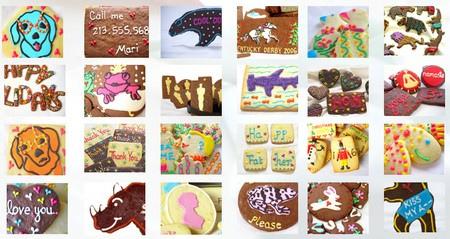 Cookies colorés de Mari