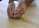 Boulage de la pâte