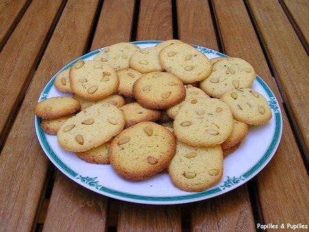 Image Papilles et Pupilles -Biscuits aux graines de fenouil et aux pignons de pin