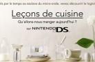 Leçons de cuisine sur Nintendo DS