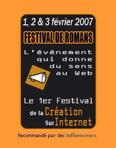 Festival de Romans de la création sur internet