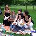 Audrey, Hélène, Cess, Isa et Joelle
