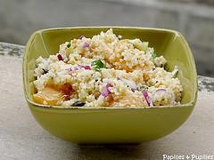 Salade vitaminée au boulghour et aux agrumes