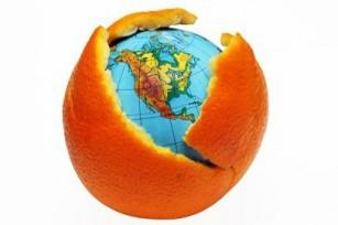 La terre est bleue comme une orange