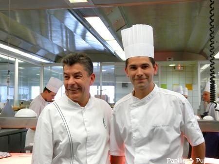 Régis Marcon et Jacques Marcon