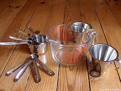 verres et tasses mesure
