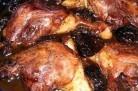 Cuisses de canard aux pruneaux