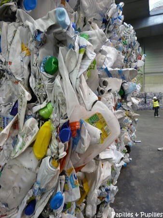 Bouteilles plastiques recyclées