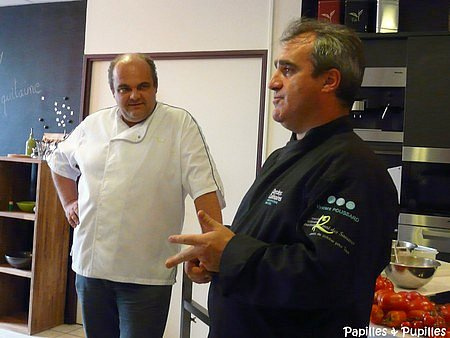 Fabrice Biasiolo et Vincent Poussard