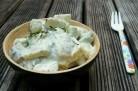 Salade nordique aux harengs fumés