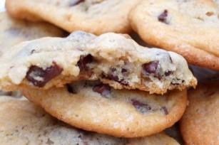 Cookies aux noix et aux pépites de chocolat