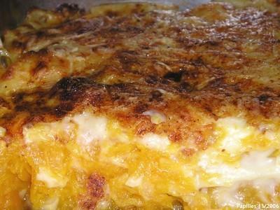 Butternut en gratin