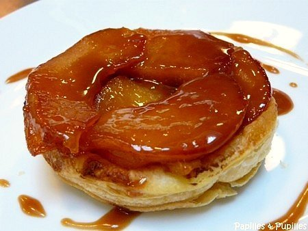 Tarte Tatin aux Coings et Gingembre