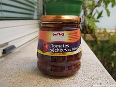 Tomates séchées à l huile d'olive