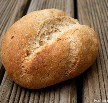 Petits pains complets aux céréales