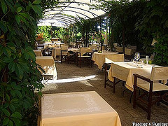 Une auberge en Gascogne - patio