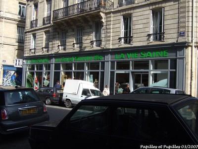 Epicerie Bio - Rue Ravez - Bordeaux