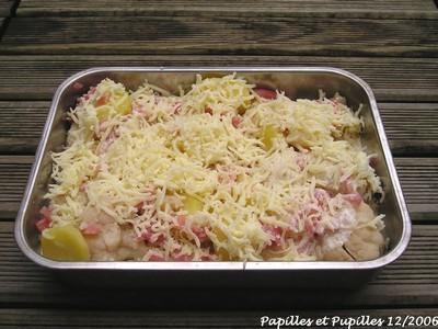 Image Papilles et Pupilles - Gratin de chou fleur et pommes de terre