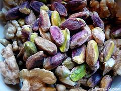 Mélange noix et pistaches