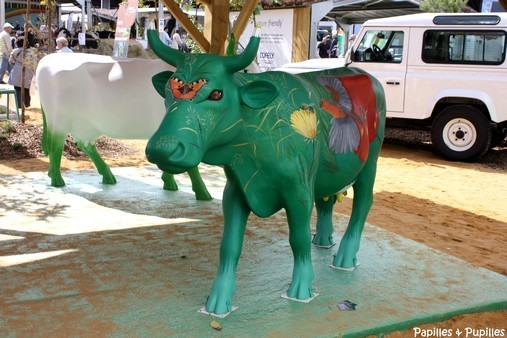 Vache de la cow parade - Bordeaux