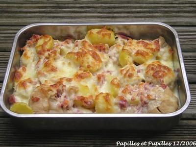 Gratin de chou fleur et pommes de terre - Choux de bruxelles recette gratin ...