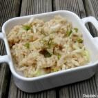 Risotto au bouillon de canard et au fenouil