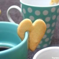 Le sablé à accrocher sur la tasse à café ! so chic !