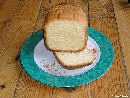 Image Papilles et Pupilles - Pain de mie en machine à pains