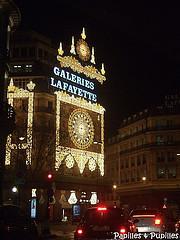 Déco de Noël - Paris