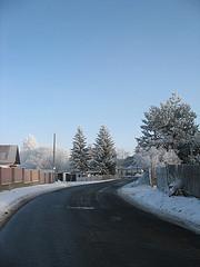 Tchéquie sous la neige