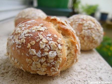 Petits pains aux flocons d