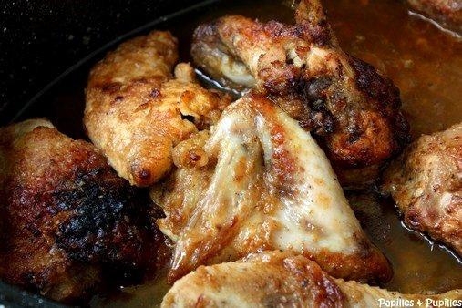 Poulet doré à l'érable