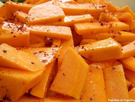 Butternut façon country potatoes - Halloween