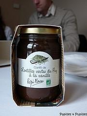 Confit de lentilles vertes du Puy à la vanille - Régis Marcon et Confibio