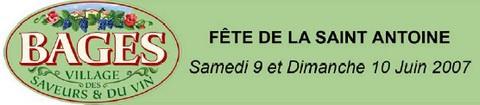 Fête de la Saint Antoine - Bages