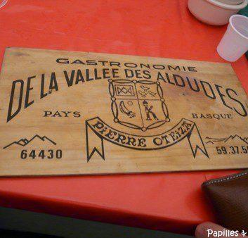 Gastronomie de la vallée des Aldudes